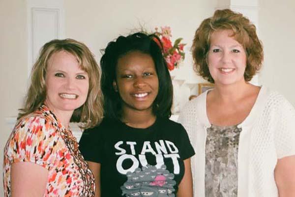 Alexxis, Jenny & Sheryl